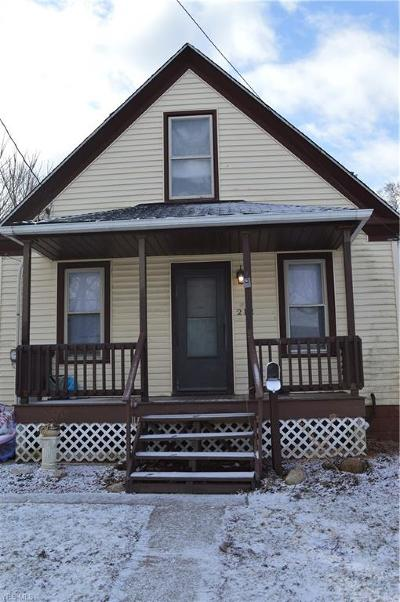 Lorain Single Family Home For Sale: 212 East 33rd St