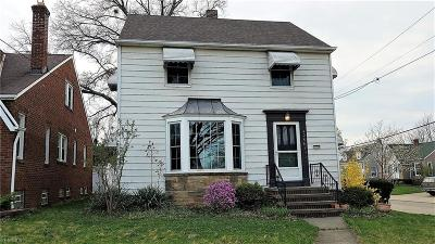 Cleveland Single Family Home For Sale: 4258 West 63 St
