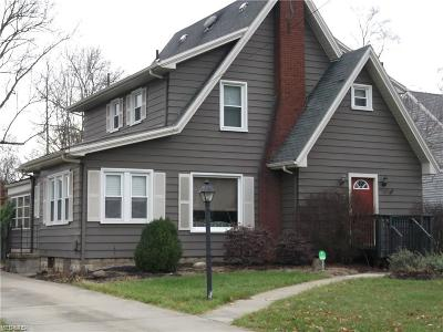 Boardman OH Single Family Home For Sale: $89,000