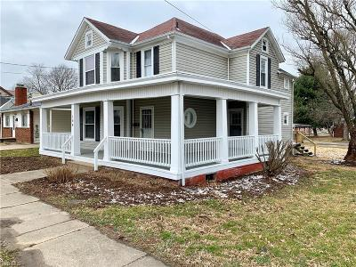 Williamstown Single Family Home For Sale: 106 West 8th St