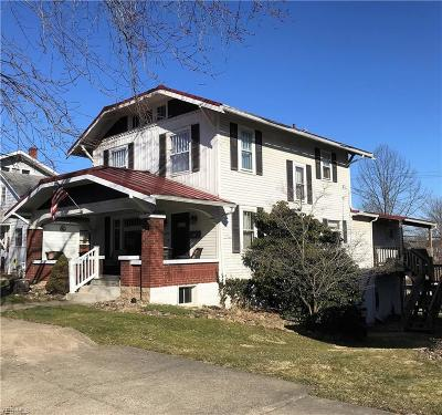 Guernsey County Multi Family Home For Sale: 1205 Stewart Ave