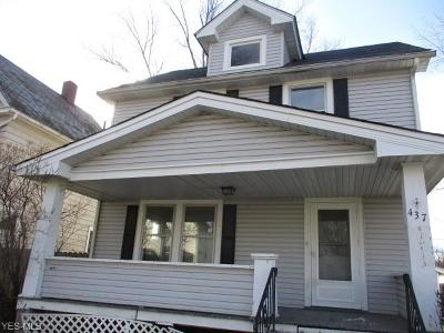 Elyria Single Family Home For Sale: 437 Kenyon Ave