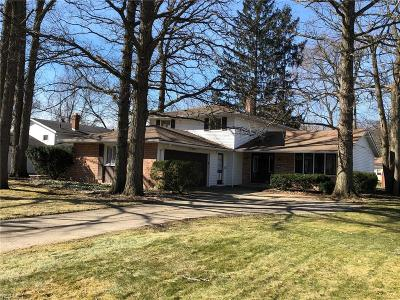 North Olmsted Single Family Home For Sale: 4514 Michael Ave