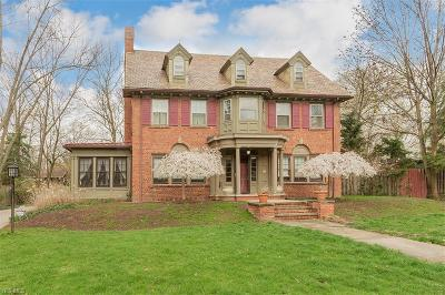 Shaker Heights Single Family Home Active Under Contract: 2750 Endicott Road