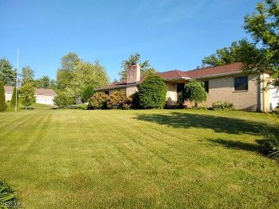 Ashtabula Single Family Home For Sale: 1527 Elmwood Dr