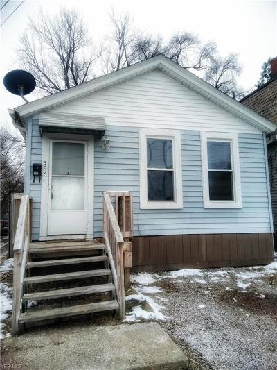 Ashtabula Single Family Home For Sale: 502 W 54th Street