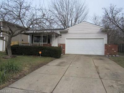 Elyria Single Family Home For Sale: 960 Rosewood Dr