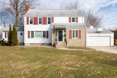 Canfield Single Family Home For Sale: 54 Neff Dr