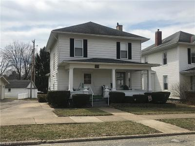 Guernsey County Single Family Home For Sale: 1310 Foster Ave
