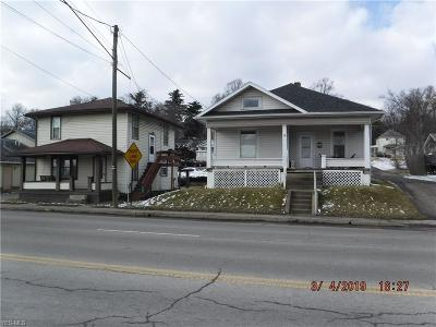Guernsey County Multi Family Home For Sale: 1929 East Wheeling Ave
