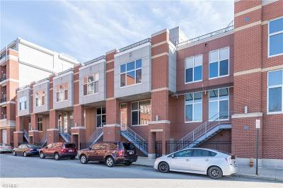 Cleveland Condo/Townhouse For Sale: 1951 West 26th St #TH5