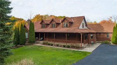 Chardon Single Family Home Active Under Contract: 9493 Mentor Road