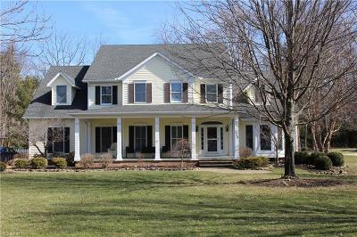 Brecksville Single Family Home Active Under Contract: 7766 Sunstone Drive