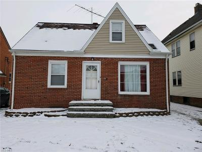 Garfield Heights Single Family Home For Sale: 10806 Wadsworth Ave