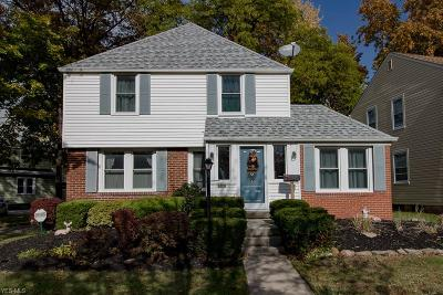 Euclid Single Family Home For Sale: 20131 Ardwell Dr