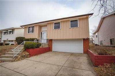 Garfield Heights Single Family Home For Sale: 5709 Andover Blvd