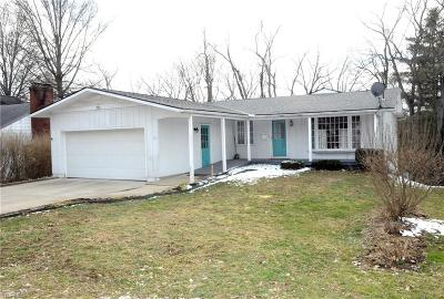 New Concord OH Single Family Home For Sale: $157,900