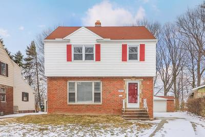 Euclid Single Family Home For Sale: 23815 Greenwood Rd