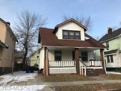 Cleveland Single Family Home For Sale: 1026 East 147th St