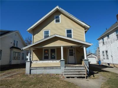 Lorain Single Family Home For Sale: 1873 East 33rd St