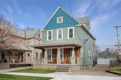 Cleveland Single Family Home For Sale: 1337 West 76th St