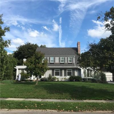 Shaker Heights Single Family Home Contingent: 2985 Kingsley Rd
