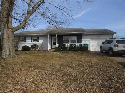 Nashport OH Single Family Home For Sale: $137,500