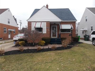 Euclid Single Family Home For Sale: 22051 Maydale Ave