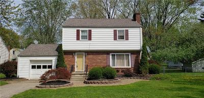 Boardman OH Single Family Home For Sale: $98,000
