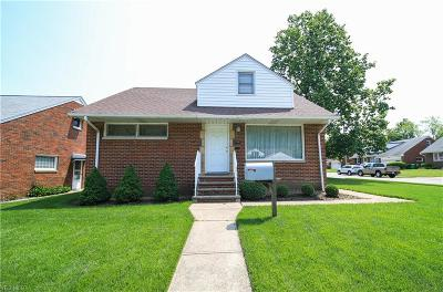 Euclid Single Family Home For Sale: 1791 East 227th St