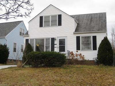 Single Family Home For Sale: 3815 Klusner Ave