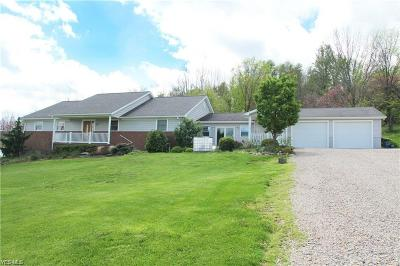 New Concord Single Family Home For Sale: 2875 Maple Brook Rd