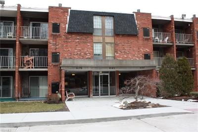 North Olmsted Condo/Townhouse For Sale: 4179 Columbia Rd #306