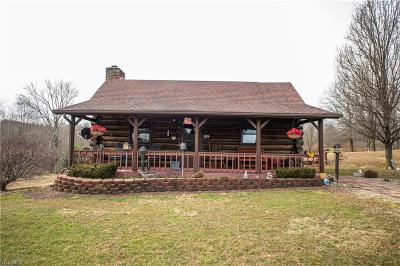 Guernsey County Single Family Home For Sale: 72861 Irish Ridge Rd