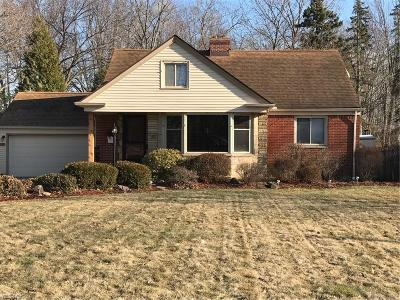 Fairview Park Single Family Home For Sale: 21387 Mastick Rd
