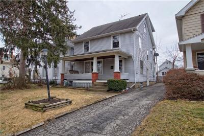 Elyria Single Family Home For Sale: 153 Denison Ave