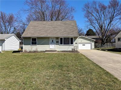 Austintown Single Family Home Active Under Contract: 231 Dehoff Drive