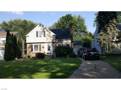 Lyndhurst Single Family Home For Sale: 1403 Ford Rd