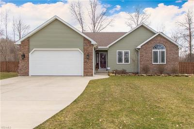 Austintown Single Family Home Contingent: 1285 Tuxford Ct