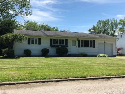 Ashtabula Single Family Home For Sale: 2316 West 15th St