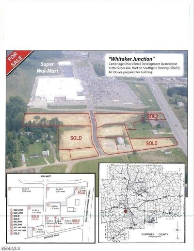 Guernsey County Residential Lots & Land For Sale: Whitaker/Southgate Parkway
