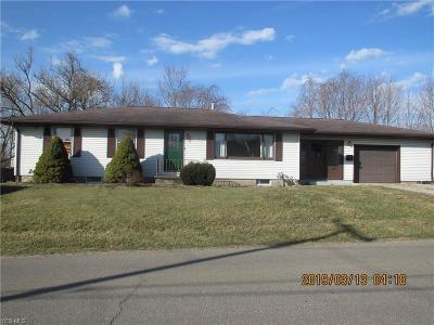 Zanesville OH Single Family Home For Sale: $139,000