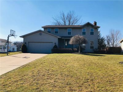 Canfield Single Family Home For Sale: 3616 Meander Reserve Cir