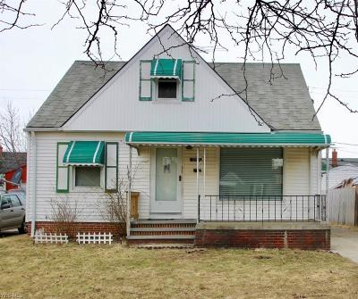 Euclid Single Family Home For Sale: 20891 Morris Ave