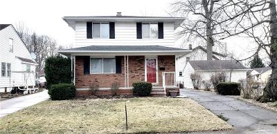 Cleveland Single Family Home For Sale: 3995 Elmore Ave
