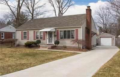 Boardman OH Single Family Home For Sale: $114,900