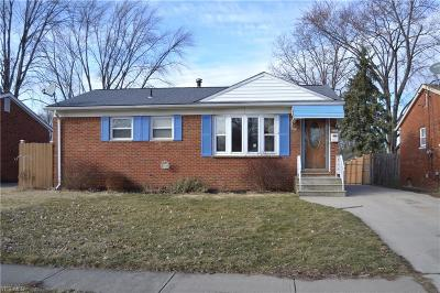 Elyria Single Family Home For Sale: 864 Livermore Ln