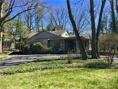 Shaker Heights Single Family Home Contingent: 17280 South Park Blvd