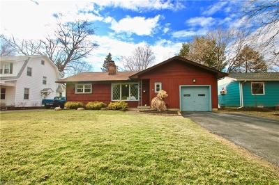 Painesville OH Single Family Home For Sale: $124,872