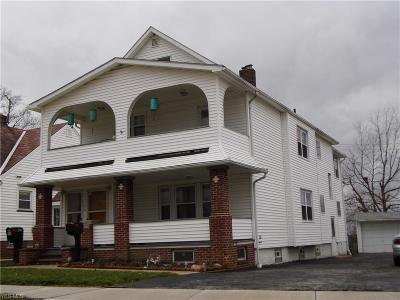 Garfield Heights Multi Family Home For Sale: 5000 East 88th St